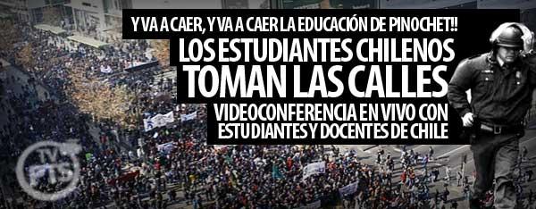 Chile: La enorme lucha estudiantil
