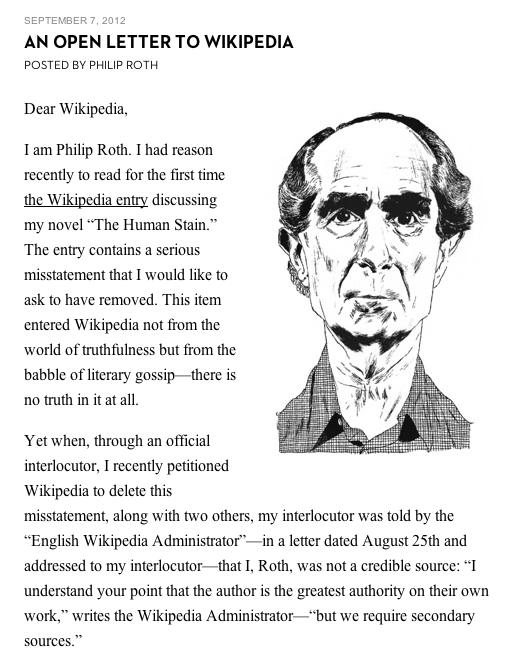 Philip Roth | Artemuros